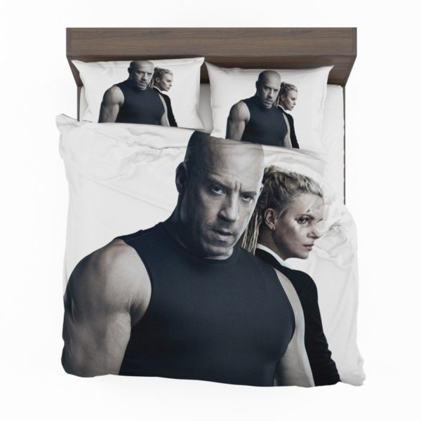 The Fate of the Furious Vin Diesel Charlize Theron Bedding Set2