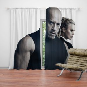 The Fate of the Furious Vin Diesel Charlize Theron Curtain