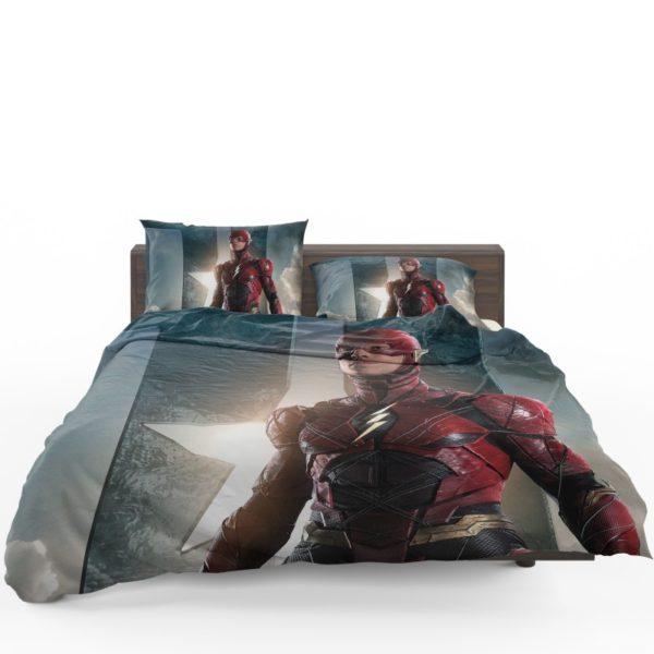 The Flash Justice League Bedding Set