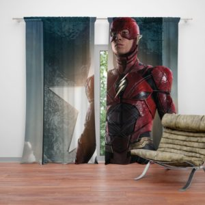 The Flash Justice League Curtain