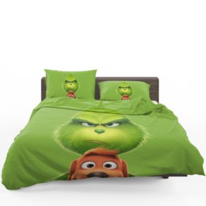 The Grinch Movie Bedding Set