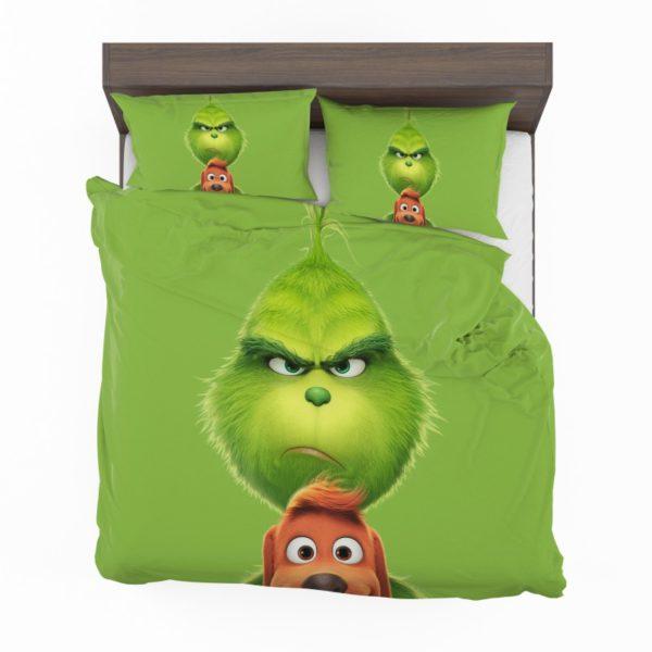 The Grinch Movie Bedding Set2