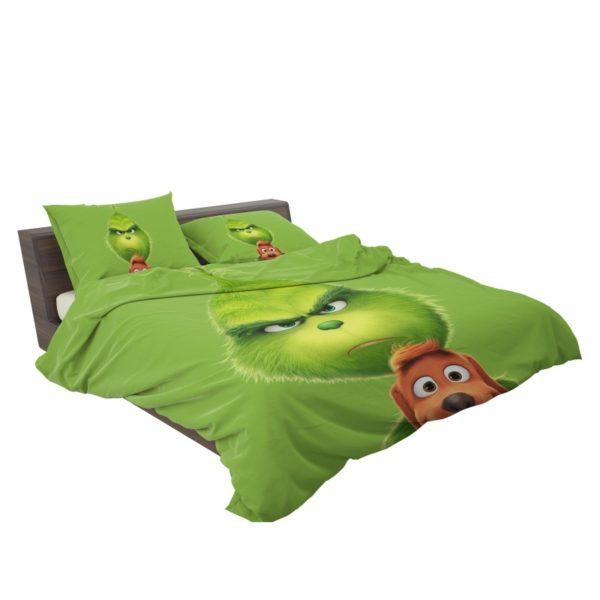 The Grinch Movie Bedding Set3