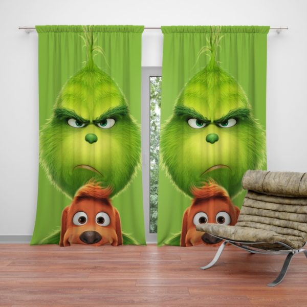 The Grinch Movie Curtain