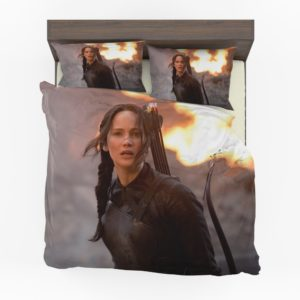 The Hunger Games Mockingjay Katniss Jennifer Lawrence Bedding Set (1)