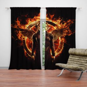 The Hunger Games Movie Curtain