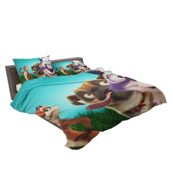 The Nut Job 2 Nutty By Nature Animation Movie Bedding Set3