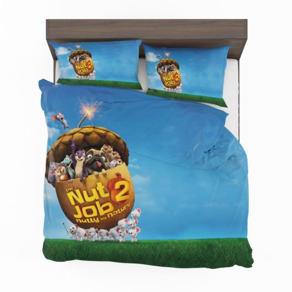 The Nut Job 2 Nutty By Nature Animation Movie Comforter Set2