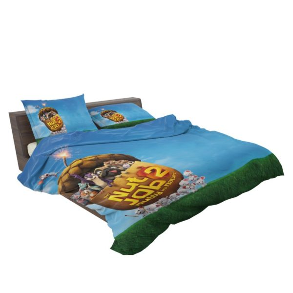 The Nut Job 2 Nutty By Nature Animation Movie Comforter Set3