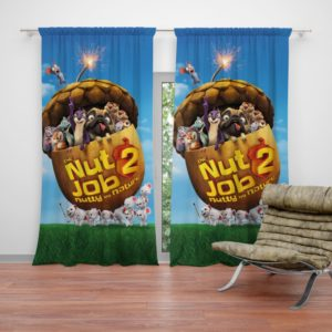 The Nut Job 2 Nutty By Nature Teen Bedroom Curtain