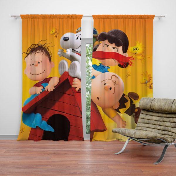 The Peanuts Animation Movie Curtain
