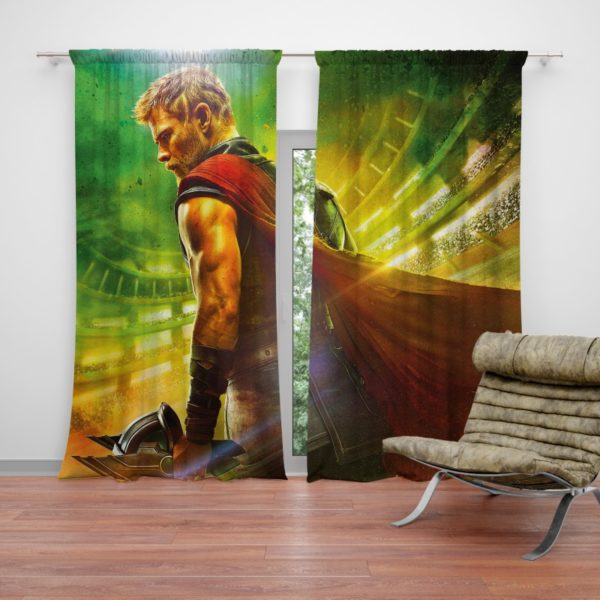 Thor Ragnarok Chris Hemsworth Curtain
