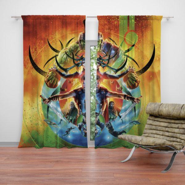 Thor Ragnarok Marvel Cinematic Universes Curtain
