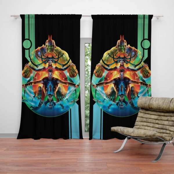 Thor Ragnarok Movie Curtain