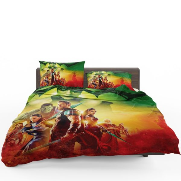 Thor Ragnarok Super Heroes Movie Bedding Set