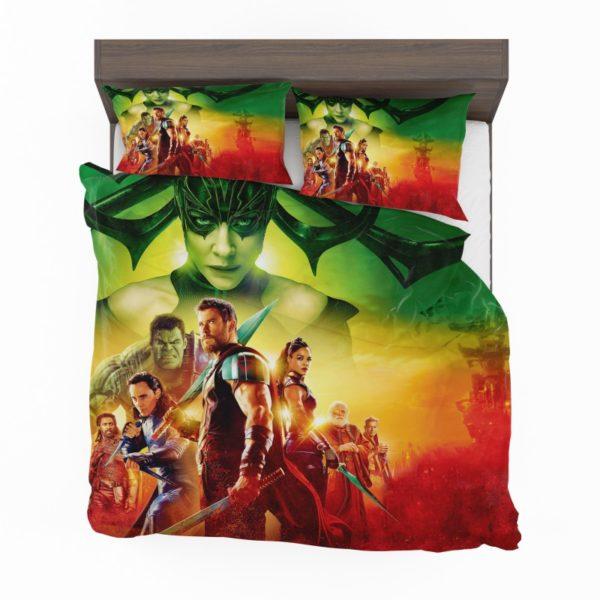 Thor Ragnarok Super Heroes Movie Bedding Set2