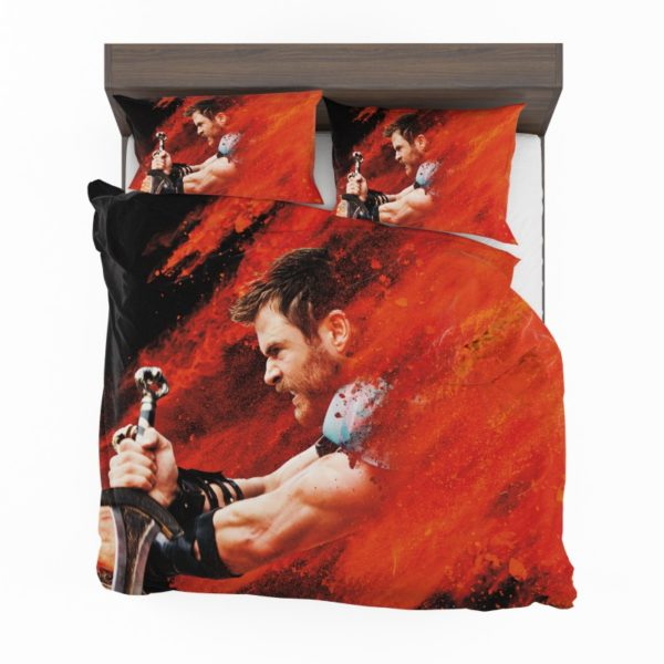 Thor Ragnarok Thor Chris Hemsworth Bedding Set2