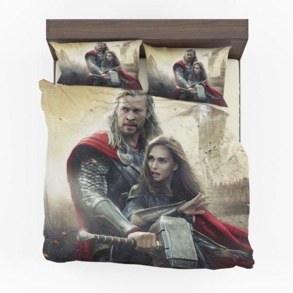 Thor the Dark World Chris Hemsworth Jane Foster Bedding Set (1)