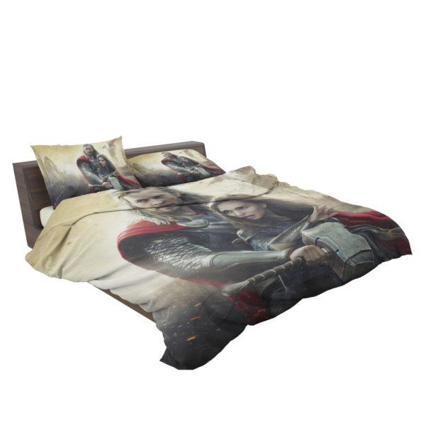 Thor the Dark World Chris Hemsworth Jane Foster Bedding Set 2