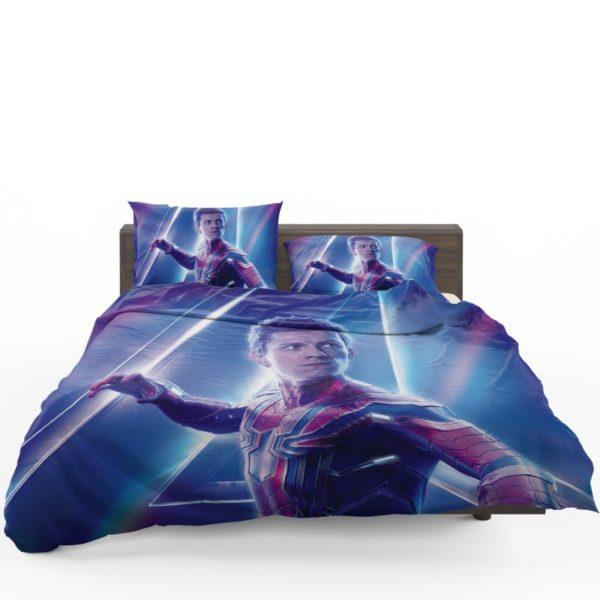 Tom Holland Peter Parker Spider Man Bedding Set