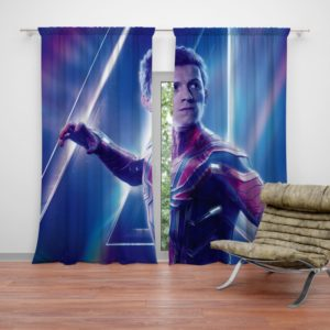 Tom Holland Peter Parker Spider Man Curtain