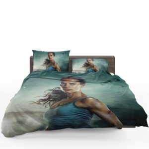 Tomb Raider Alicia Vikander Lara Croft Bedding Set
