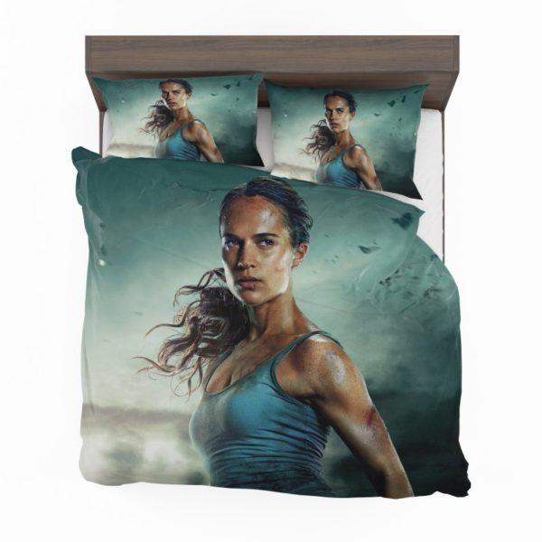 Tomb Raider Alicia Vikander Lara Croft Bedding Set2