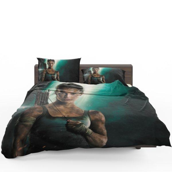 Tomb Raider Alicia Vikander Lara Croft Comforter Set