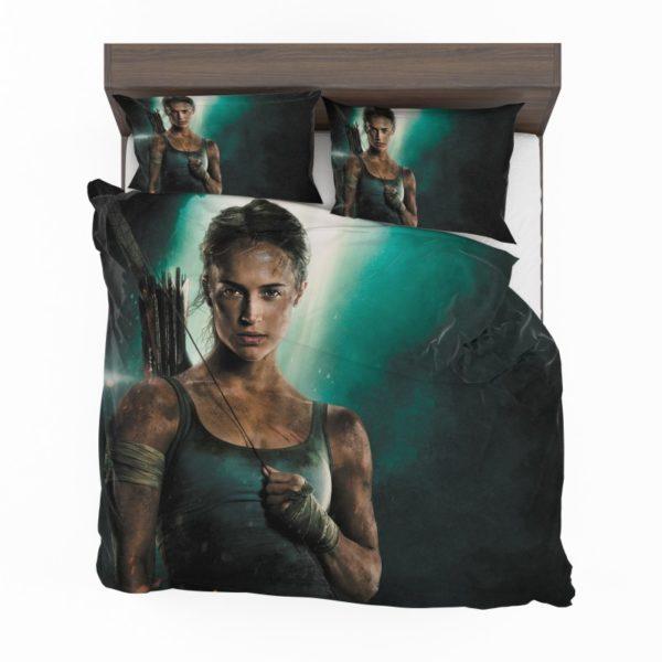 Tomb Raider Alicia Vikander Lara Croft Comforter Set2