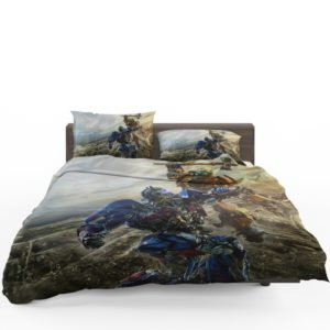 Transformers Bumblebee Optimus Prime Fight Bedding Set