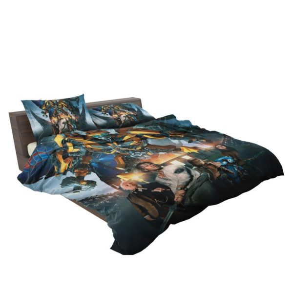Transformers the Last Knight Bumblebee Mark Wahlberg Bedding Set3