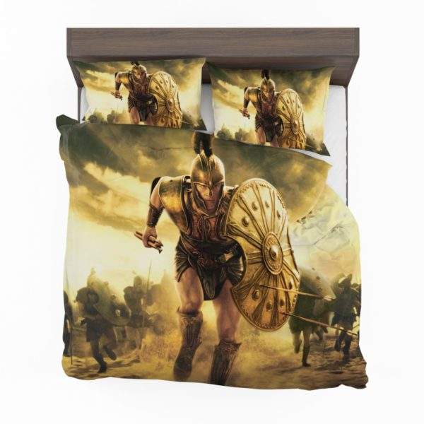 Troy Achilles Brad Pitt Adventure Bedding Set2