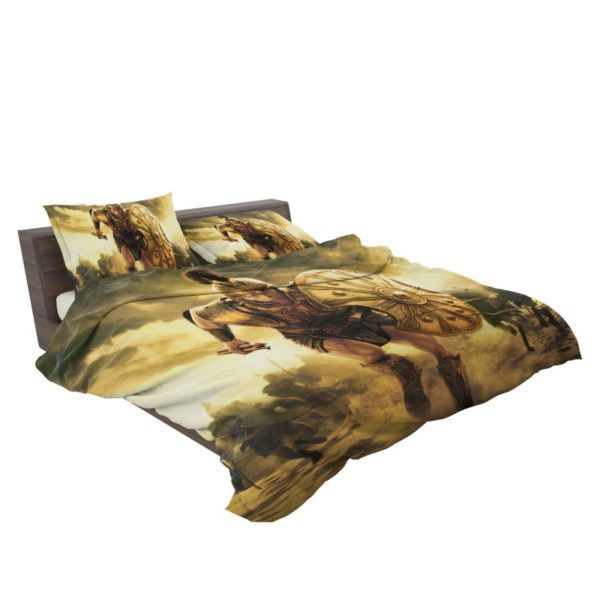 Troy Achilles Brad Pitt Adventure Bedding Set3