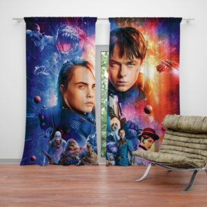 Valerian And The City Of A Thousand Planets Curtain