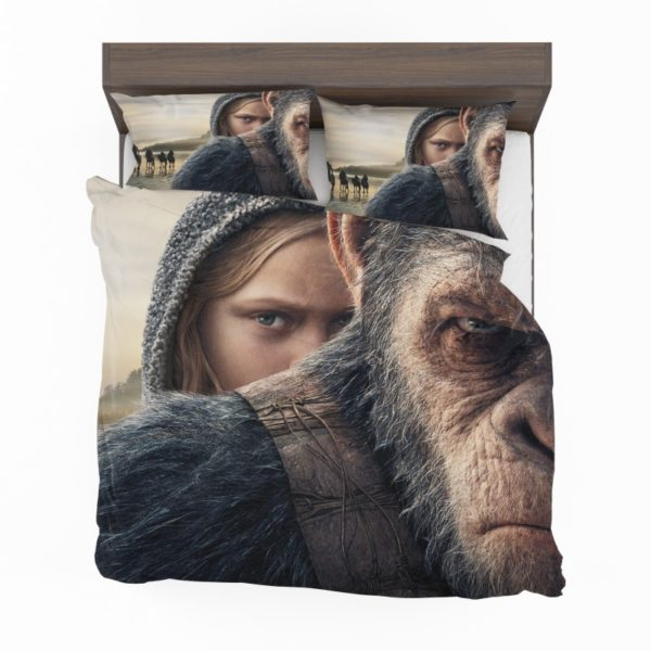 War For The Planet Of The Apes Bedding Set2