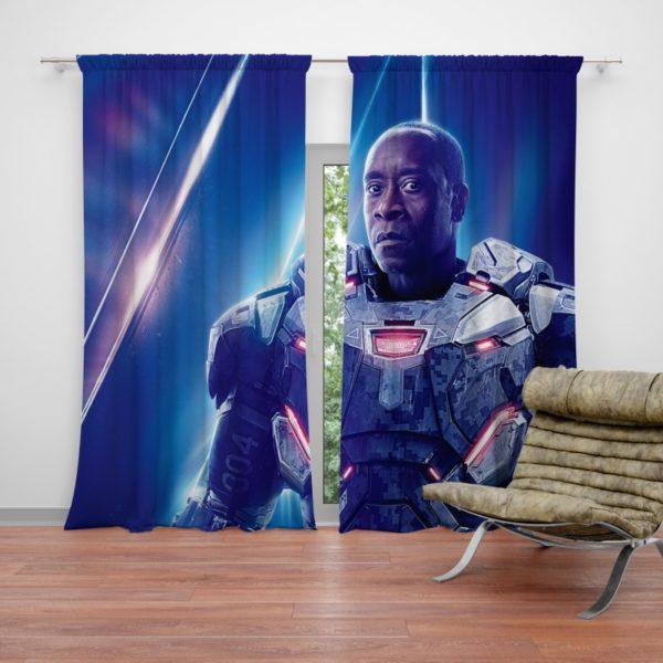 War Machine Don Cheadle James Rhodes Curtain