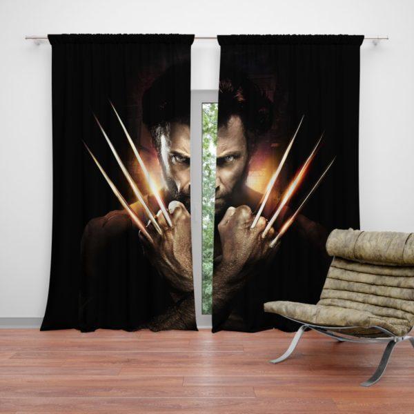 Wolwerine Hugh Jackman Curtain