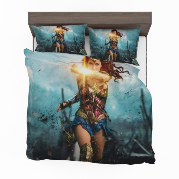 Wonder Woman Diana Prince Gal Gadot Bedding Set2