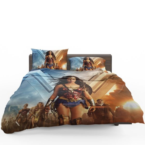 Wonder Woman Gal Gadot Duvet Cover Set