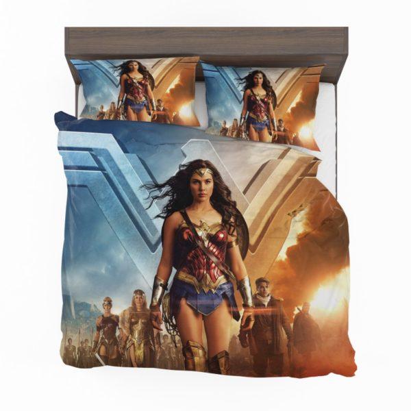 Wonder Woman Gal Gadot Duvet Cover Set2