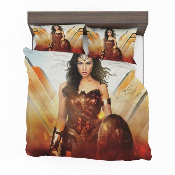 Wonder Woman Rise of the Warrior Movie Bedding Set2