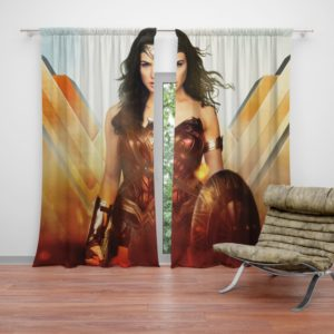 Wonder Woman Rise of the Warrior Movie Curtain