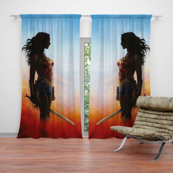 Wonder Women Teen Girls Curtain