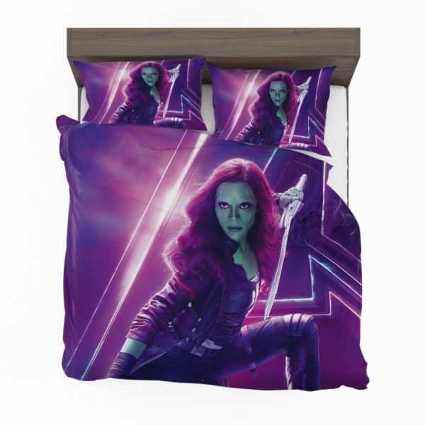 Zoe Saldana Gamora Avengers Infinity War Bedding Set2