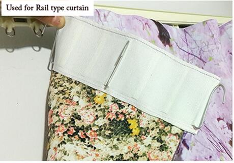 3d Curtain Material
