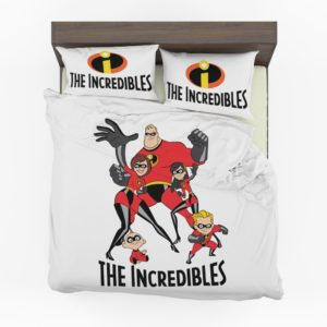 the incredibles Movie themed bedding set (1)