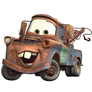 Tow Mater - Shop By Character