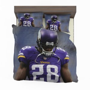 Adrian Peterson Minnesota Vikings American Football Bedding Set2