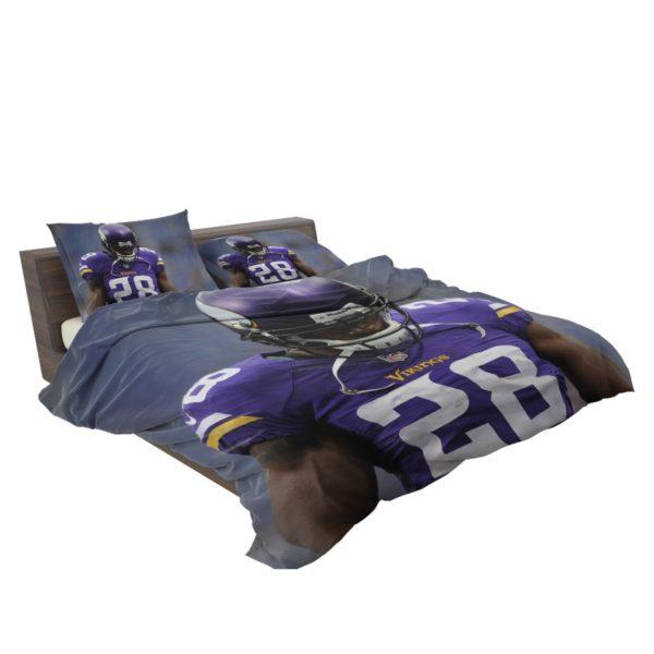 Adrian Peterson Minnesota Vikings American Football Bedding Set3