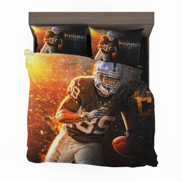Amari Cooper Oakland Raiders Nfl Football Bedding Sets